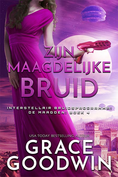 boekomslag voor Zijn maagdelijke bruid door Grace Goodwin