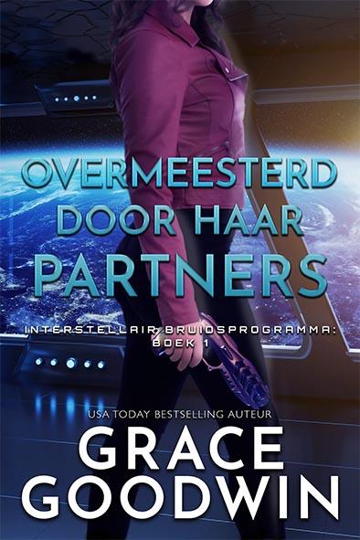 boekomslag voor Overmeesterd door Haar Partners door Grace Goodwin