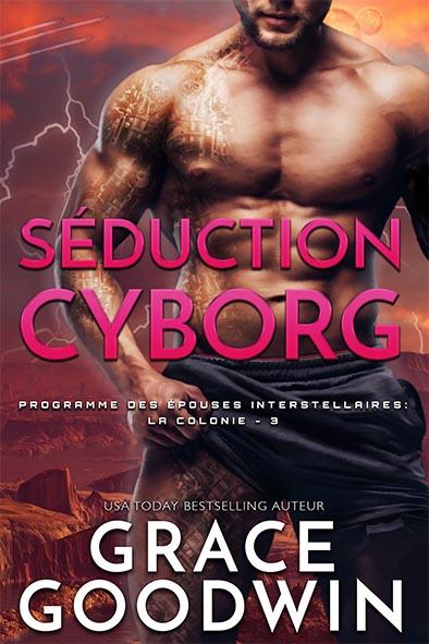 couverture de livre pour Séduction Cyborg par Grace Goodwin
