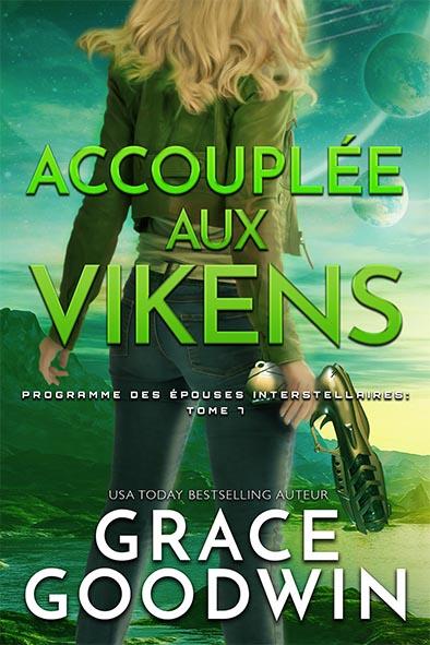 couverture de livre pour Accouplée aux Vikens par Grace Goodwin