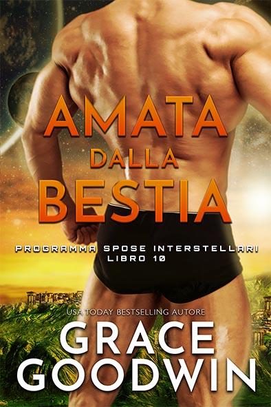 copertina per Amata dalla bestia da Grace Goodwin