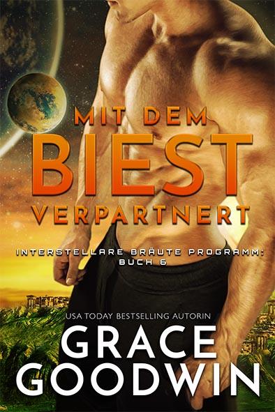 Buchdeckel für Mit dem Biest verpartnert von Grace Goodwin