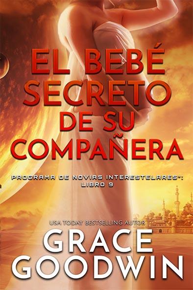 tapa del libro para El bebé secreto de su compañera por Grace Goodwin