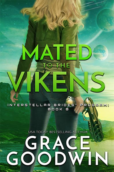 book cover for Mated to The Vikens by Grace Goodwin