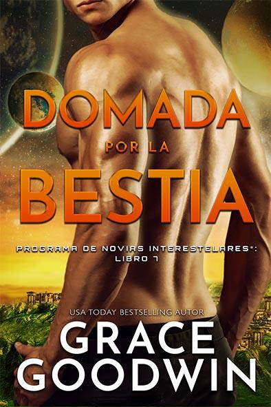tapa del libro para Domada por la bestia por Grace Goodwin