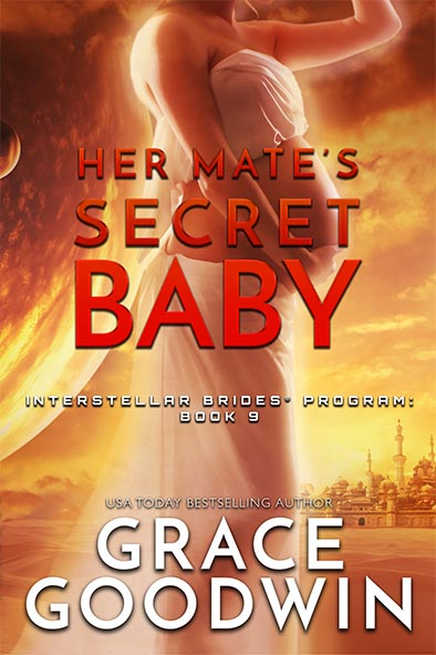 book cover for Her Mate's Secret Baby by Grace Goodwin