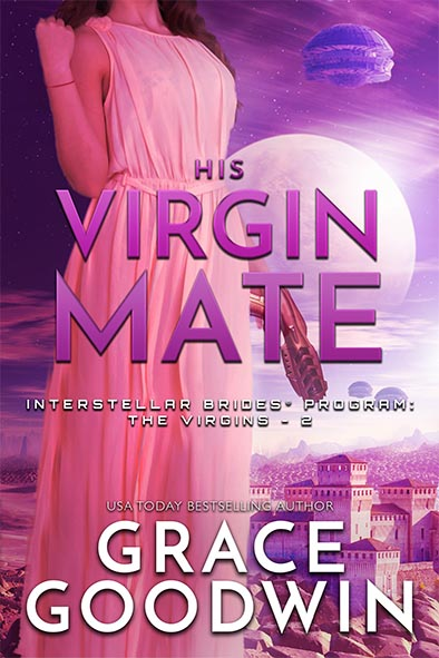 book cover for His Virgin Mate by Grace Goodwin