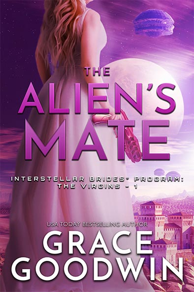 book cover for The Alien's Mate by Grace Goodwin
