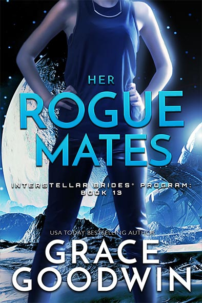book cover for Her Rogue Mates by Grace Goodwin