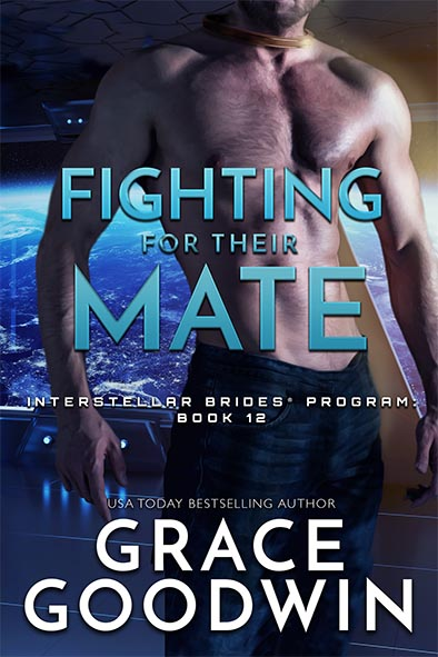 book cover for Fighting For Their Mate by Grace Goodwin
