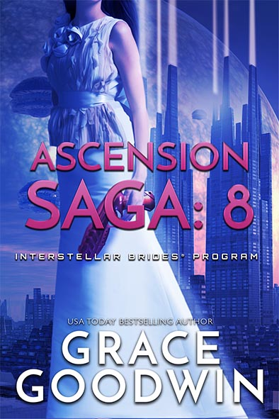 book cover for Ascension Saga Book 8 by Grace Goodwin