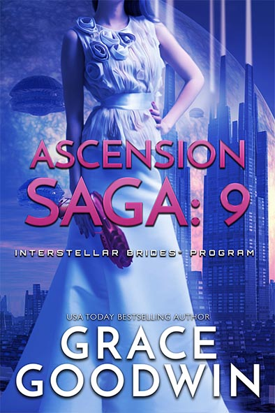 book cover for Ascension Saga Book 9 by Grace Goodwin