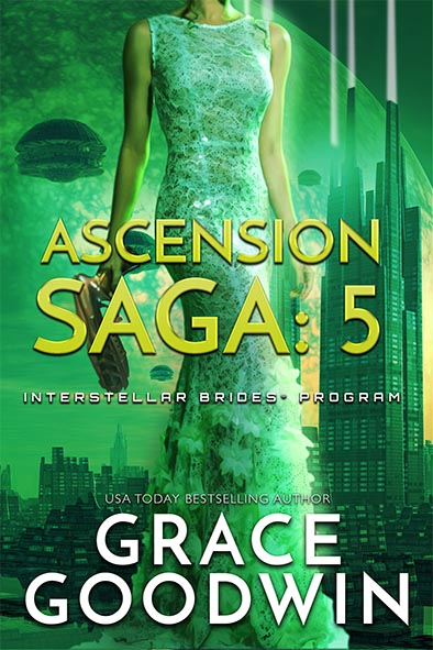 book cover for Ascension Saga Book 5 by Grace Goodwin