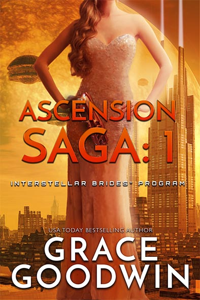 book cover for Ascension Saga Book 1 by Grace Goodwin