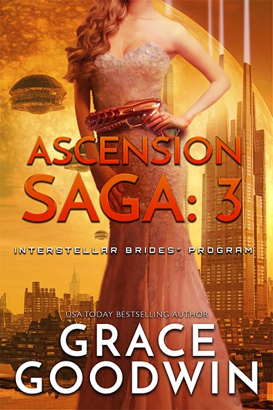 book cover for Ascension Saga Book 3 by Grace Goodwin