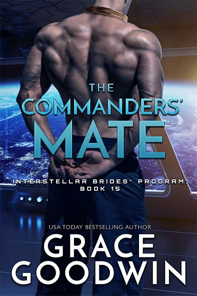 book cover for The Commanders' Mate by Grace Goodwin