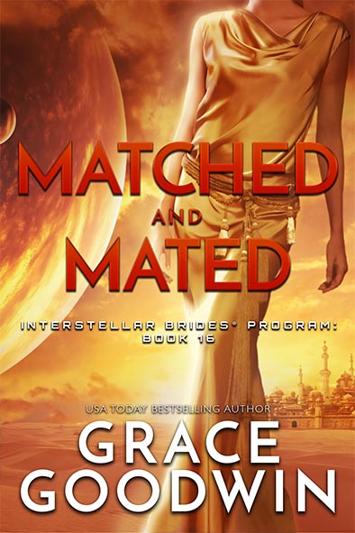 book cover for Matched and Mated by Grace Goodwin