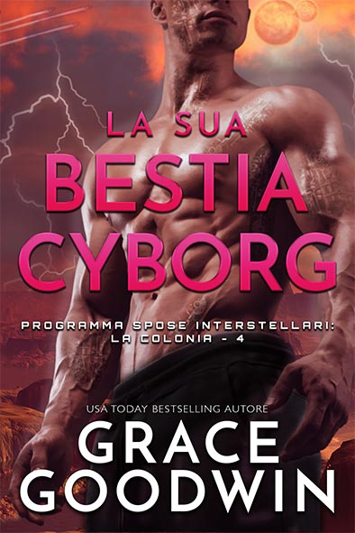 copertina per La sua bestia cyborg da Grace Goodwin
