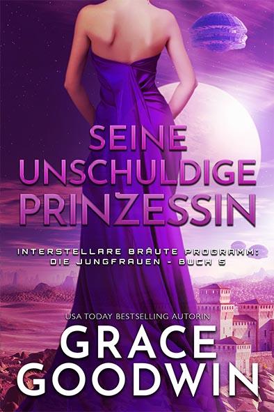 Buchdeckel für Seine unschuldige Prinzessin von Grace Goodwin