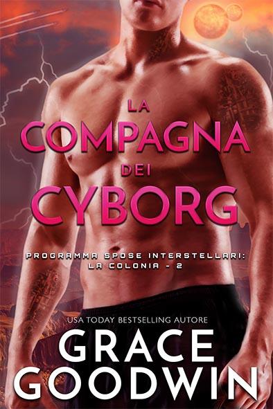 copertina per La compagna dei cyborg da Grace Goodwin