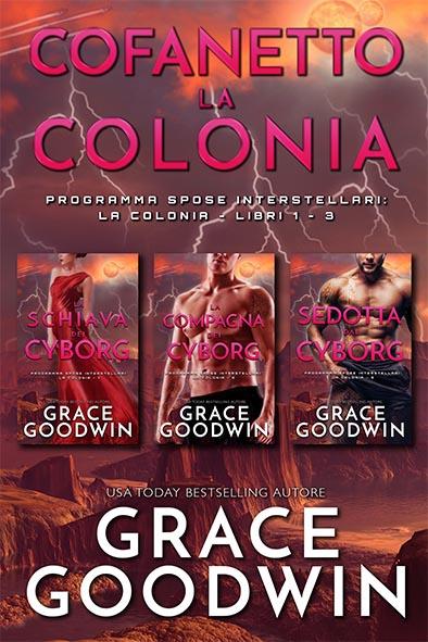 copertina per Cofanetto La Colonia Libra 1-3 da Grace Goodwin