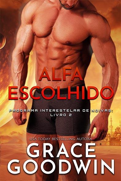 capa de livro para Alfa Escolhido por Grace Goodwin