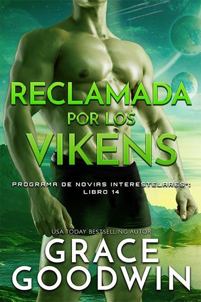 tapa del libro para Reclamada por los vikens por Grace Goodwin