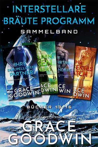 Buchdeckel für Interstellare Bräute Programm Sammelband - Bücher 13 - 16 von Grace Goodwin