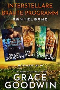 Buchdeckel für Interstellare Bräute Programm Sammelband - Bücher 5 - 8 von Grace Goodwin