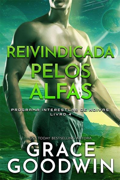capa de livro para Reivindicada pelos Alfas por Grace Goodwin