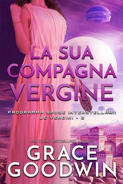 copertina per La sua compagna vergine da Grace Goodwin