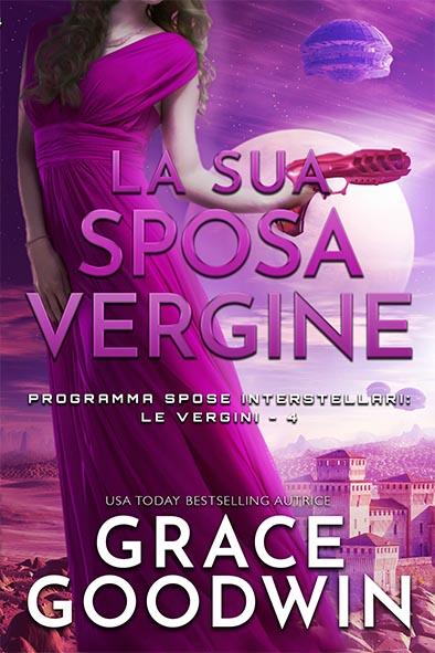 copertina per La sua sposa vergine da Grace Goodwin