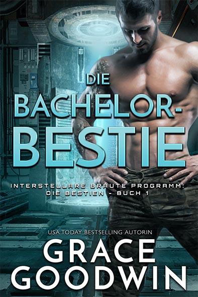 Buchdeckel für Die Bachelor-Bestie von Grace Goodwin