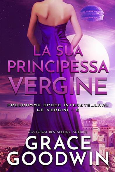 copertina per La sua principessa vergine da Grace Goodwin