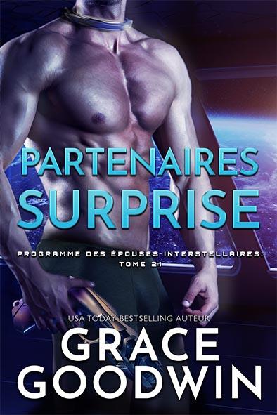 couverture de livre pour Partenaires Surprise par Grace Goodwin
