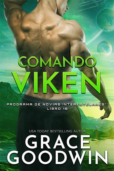 tapa del libro para Comando Viken por Grace Goodwin
