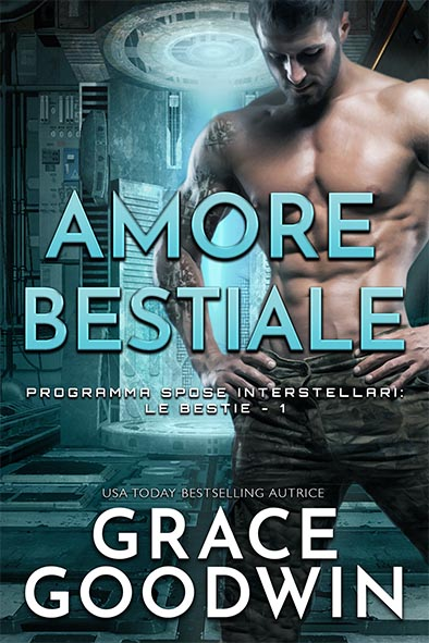 copertina per Amore bestiale da Grace Goodwin