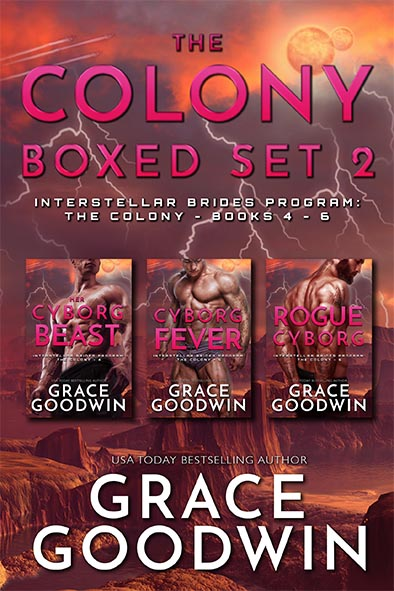 book cover for The Colony - Boxed Set 2 Books 4 - 6 by Grace Goodwin