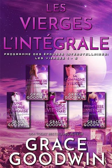book cover for Les Vierges - L'intégrale par Grace Goodwin