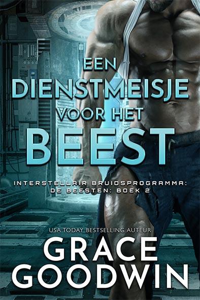 boekomslag voor Een dienstmeisje voor het Beest door Grace Goodwin