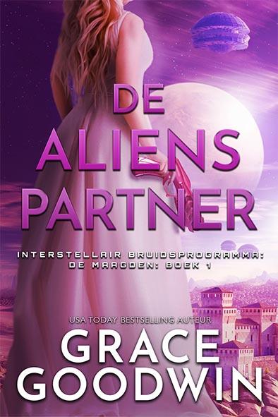 boekomslag voor De Aliens Partner door Grace Goodwin