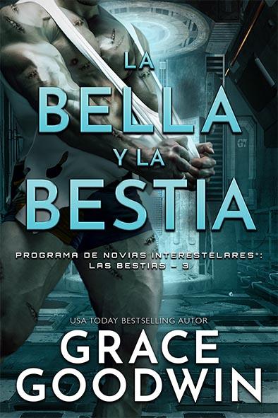 tapa del libro para La bella y la bestia por Grace Goodwin