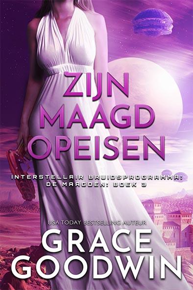 boekomslag voor Zijn Maagd Opeisen door Grace Goodwin