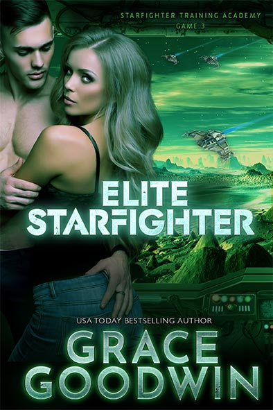 book cover for Elite Starfighter by Grace Goodwin