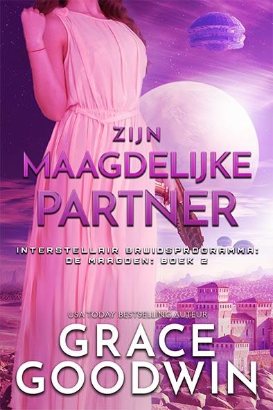 boekomslag voor Zijn maagdelijke partner door Grace Goodwin