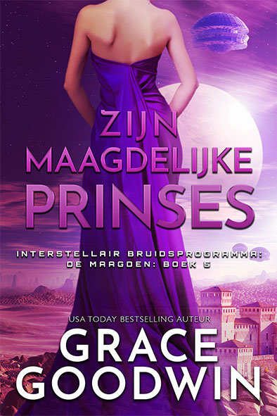 boekomslag voor Zijn Maagdelijke Prinses door Grace Goodwin