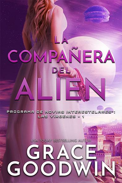 tapa del libro para La compañera del alien por Grace Goodwin