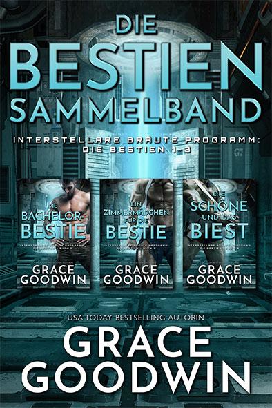 Buchdeckel für Die Bestien Sammelband von Grace Goodwin
