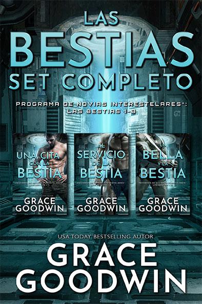 tapa del libro para Las Bestias Set Completo por Grace Goodwin