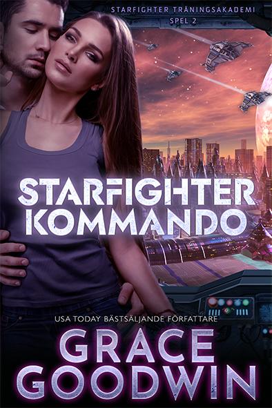 bokomslag för Starfighter Kommando av Grace Goodwin